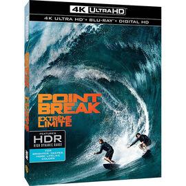 Point Break (2015) - 4K UHD Blu-ray