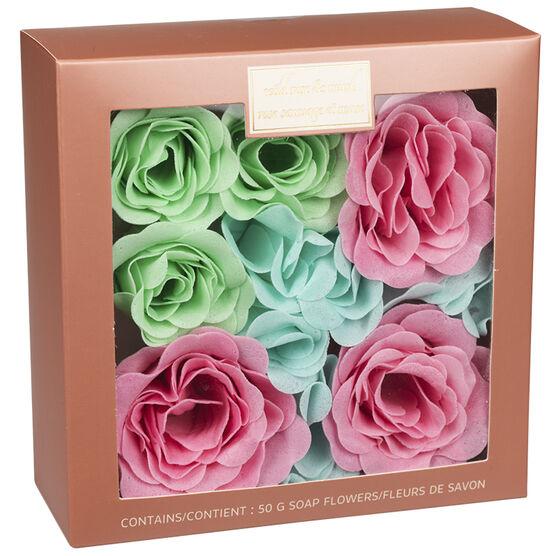 Wild Rose & Musk Soap Flowers - 50g