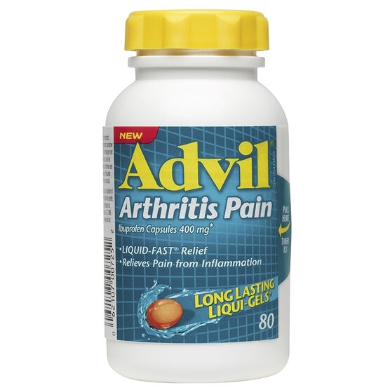 Advil Arthritis Pain Liqui-Gels - 80's