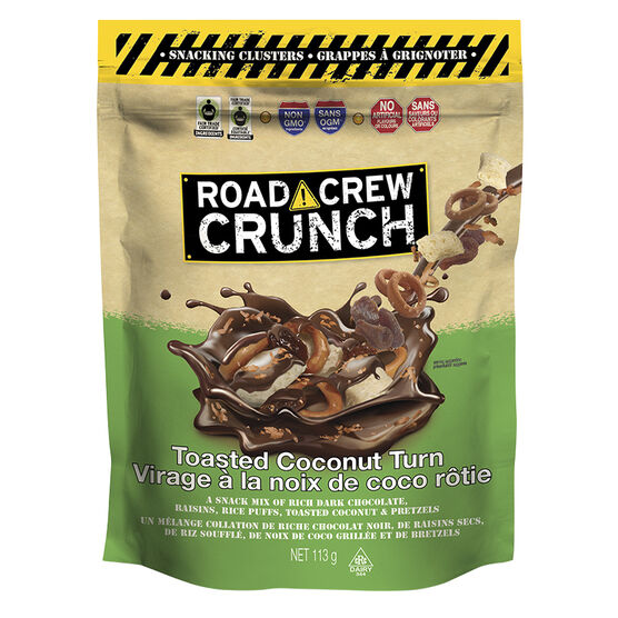 Road Crew Crunch - Toasted Coconut Turn - 113g