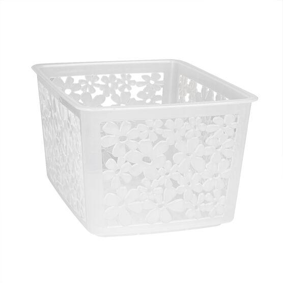InterDesign Blumz Basket - Small - Clear