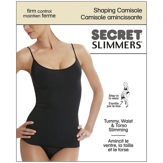 Secret Slimmers Shaping Camisole - D - Nude