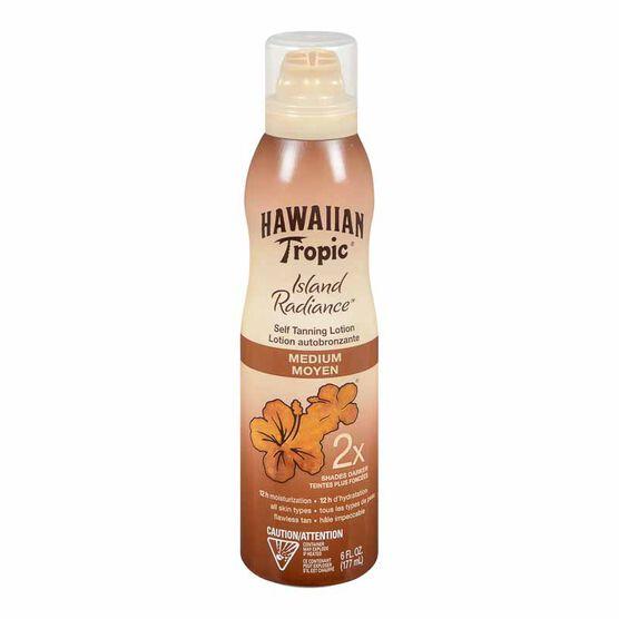 Hawaiian Tropic Island Radiance Self Tanning Lotion - Medium - 177ml