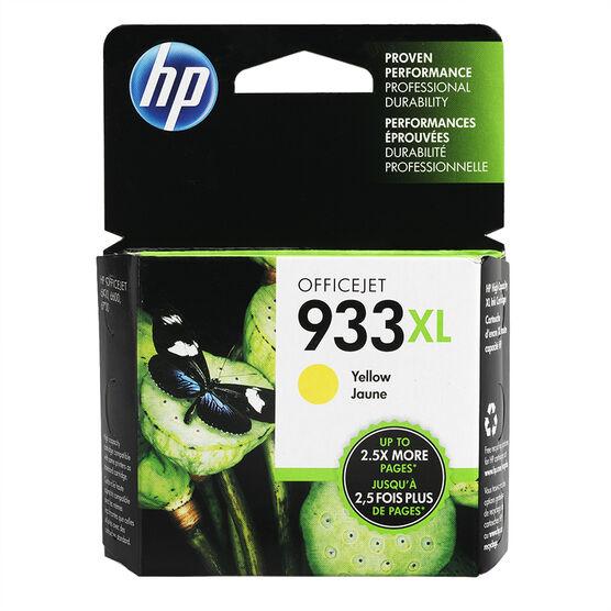 HP 933XL High Yield Officejet Ink Cartridge - Yellow- CN056AC#140