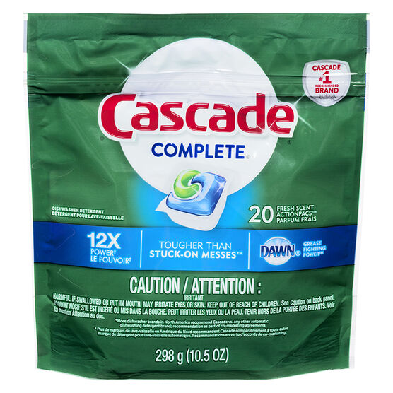 Cascade Complete - Fresh - 20's