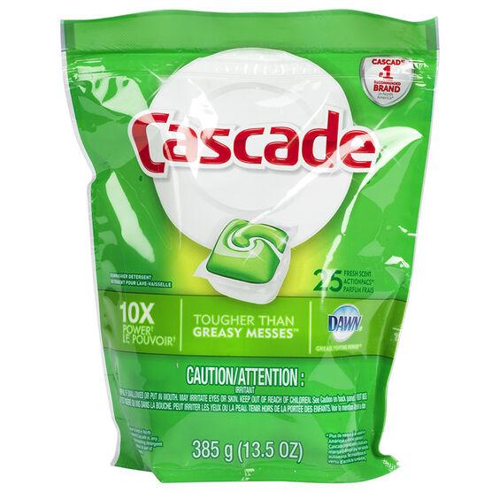 Cascade Action Pacs - Fresh Scent - 25's