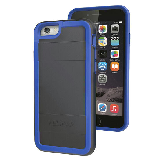 Pelican Pro Case for iPhone 6/6S - Blue/Black - PNIP6PROBKBL