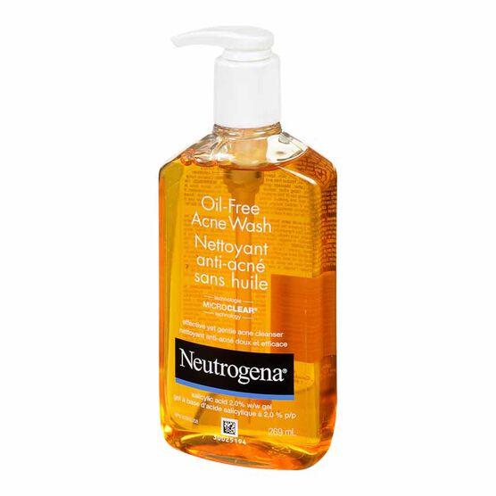 Neutrogena Oil-Free Acne Wash - 269 ml