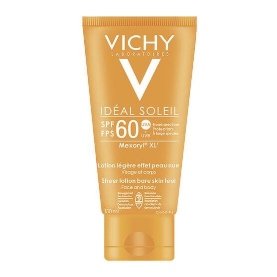 Vichy Ideal Soleil XL Sunscreen Cream - SPF 60 - 150ml