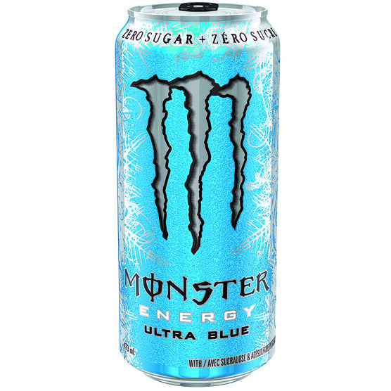 Monster Energy Drink - Ultra Blue - 473ml
