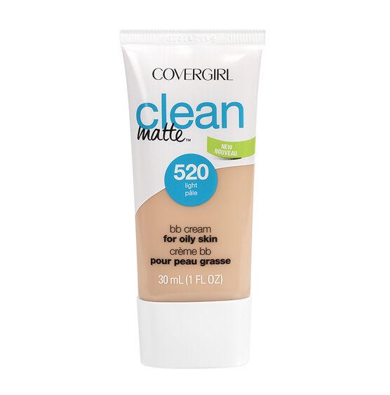 CoverGirl Clean Matte BB Cream For Oily Skin - Light