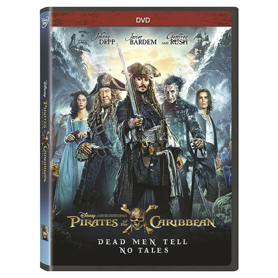 Pirates of the Caribbean: Dead Men Tell No Tales - DVD