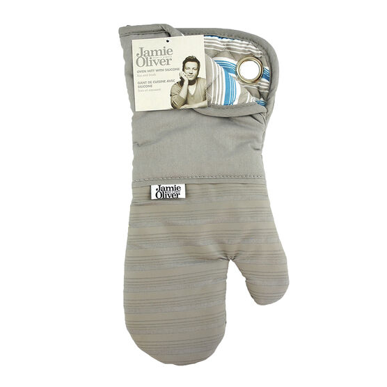 Jamie Oliver Oven Mitt with Silicone - Grey