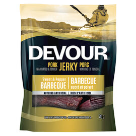 Devour Pork Jerky - Sweet & Pepper Barbeque - 70g