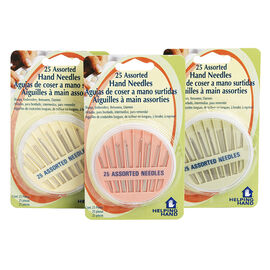 Helping Hand Assorted Hand Needles - 25 pack