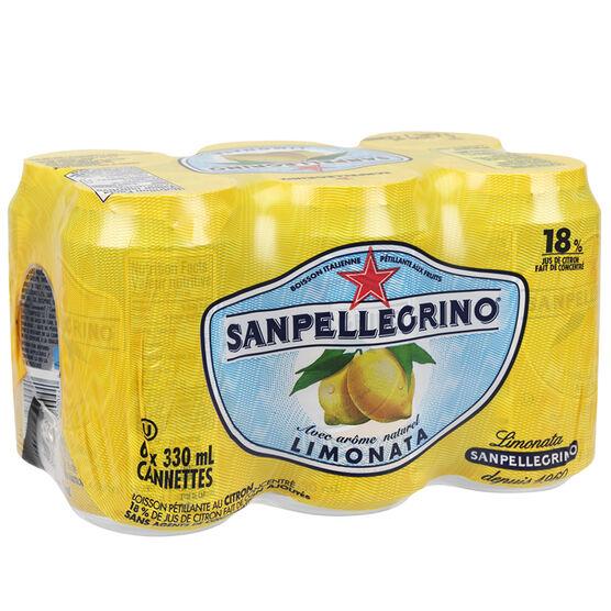 San Pellegrino - Limonata - 6 x 330ml