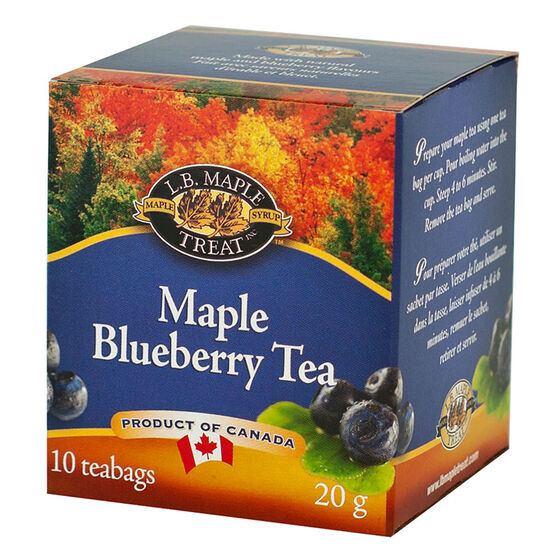 L.B. Maple Treat - Maple Blueberry Tea - 10's