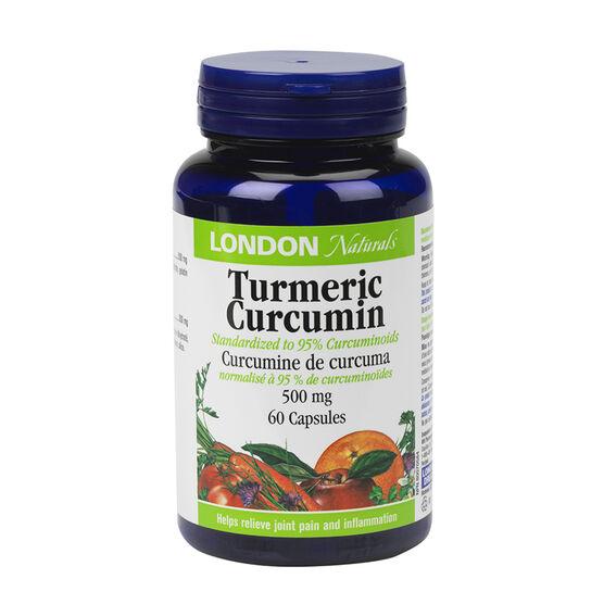 London Naturals Turmeric Curcumin - 500mg - 60's