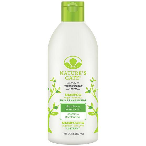 Nature's Gate Shine Enhancing Shampoo - Jasmine & Kombucha - 532ml