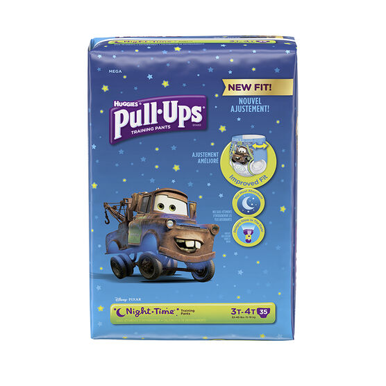 Pull Ups Night Time Training Pants - Boys - Size 3-4 - 35's