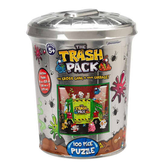 Trash Pack Puzzle in a Tin