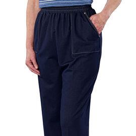 Silvert's Open-Back Stretch Denim Pant - Small - XL
