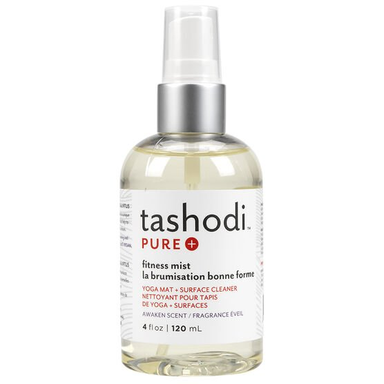 Tashodi Pure Fitness Mist Yoga Mat + Surface Cleaner - Awaken Scent - 120ml