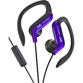 JVC Sport-Clip Headphones with Remote/Mic