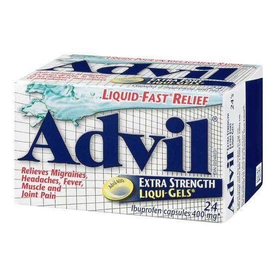 Advil Extra Strength Liqui-Gels - 24's