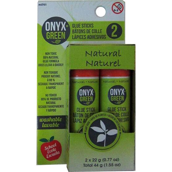 Onyx Green Glue Sticks - 2x22g