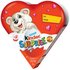 Kinder Surprise Valentine Heart - 2 piece