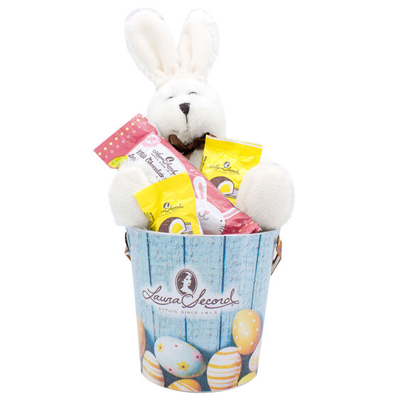 Laura Secord Chocolate and Plush Bucket