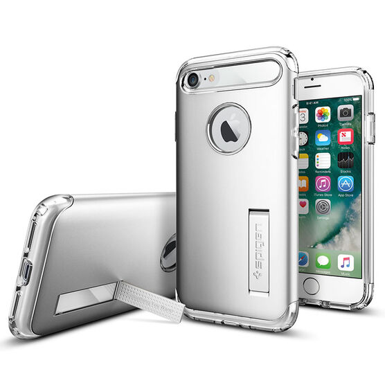 Spigen Slim Armor for iPhone 7 - Satin Silver - SGP042CS20305