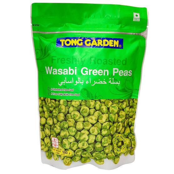 Tong Garden Freshly Roasted Wasabi Green Peas - 500g