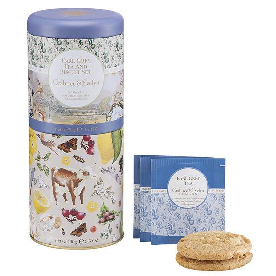 Crabtree & Evelyn Earl Grey Tea & Biscuit Set