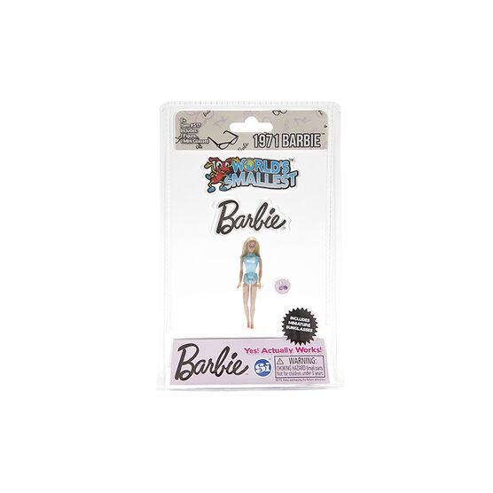 World's Smallest Barbie