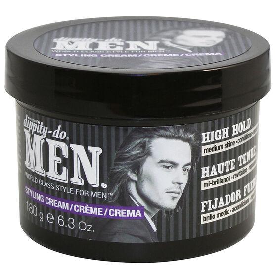 Dippity-Do Men Styling Cream - High Hold - 180g