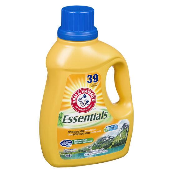 Arm & Hammer Essentials 2X Laundry Detergent - Mountain Rain - 2.03L