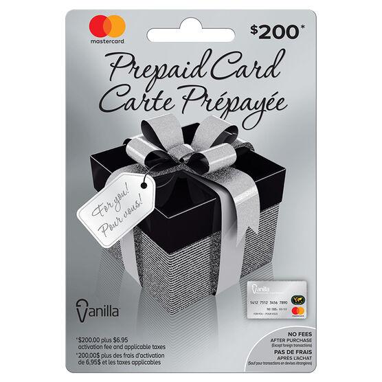 Vanilla Mastercard Gift Card - $200
