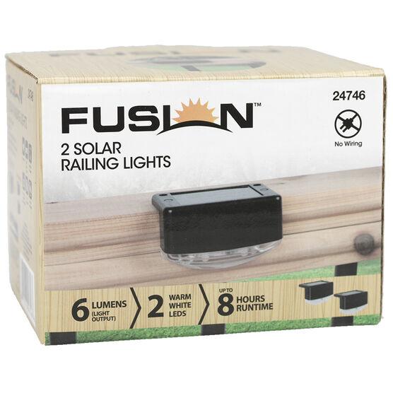 Fusion Solar Railing Light - Black - 24746