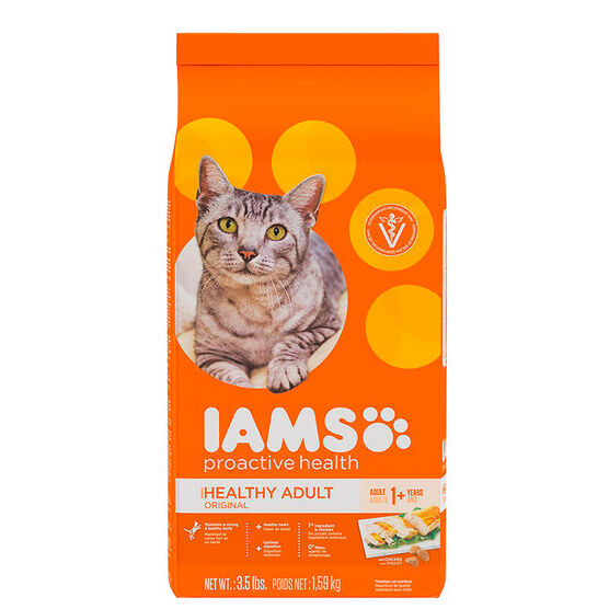 Iams Adult ProActive Cat Food - Chicken - 3.5lbs