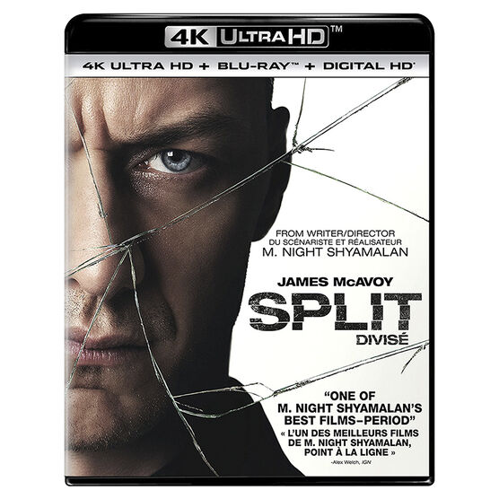 Split - 4K UHD Blu-ray