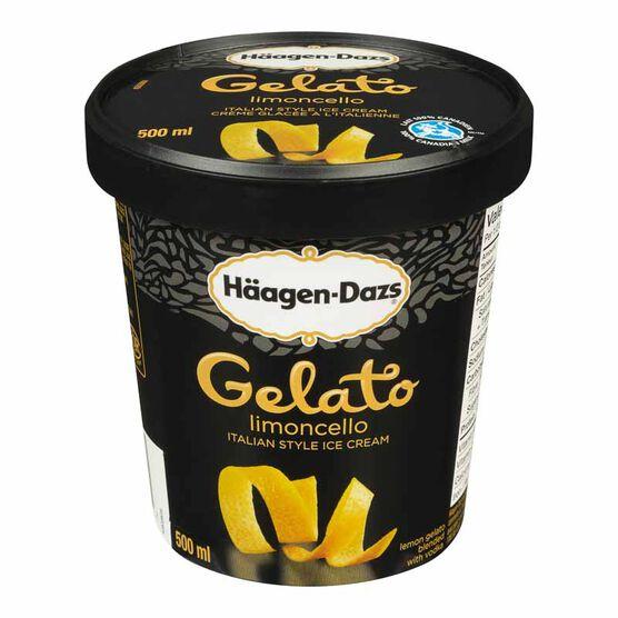 Haagen Dazs Gelato - Limoncello - 500ml