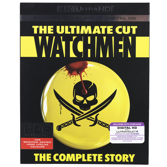 Watchmen: The Complete Story - The Ultimate Cut - 4K UHD Blu-ray