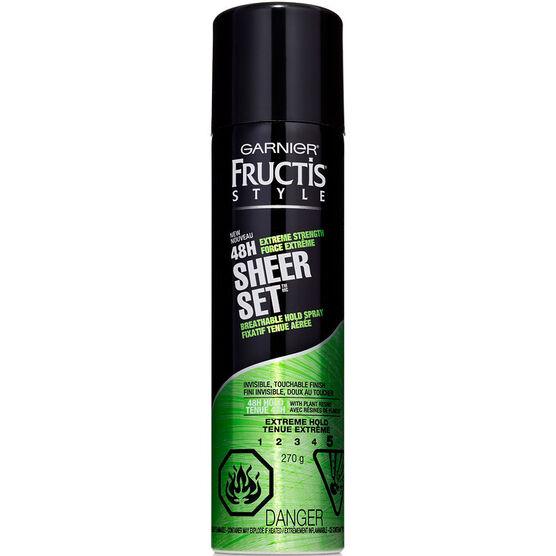 Garnier Fructis Sheer Set Hairspray - Extreme Hold - 281ml