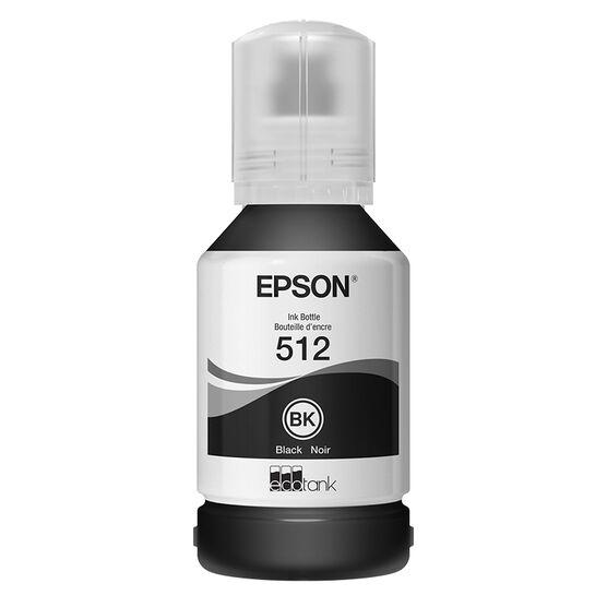 Epson EcoTank 512 Black Ink Bottle - T512020-S