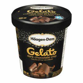 Haagen Dazs Gelato - Dark Chocolate Chip - 500ml