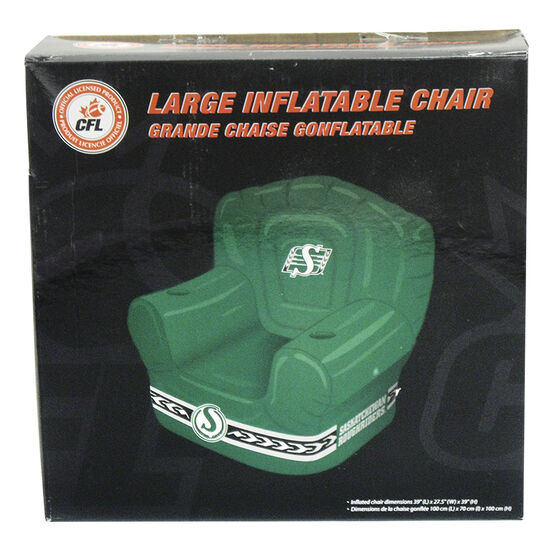 CFL Large Inflatable Chair - Saskatchewan Roughriders