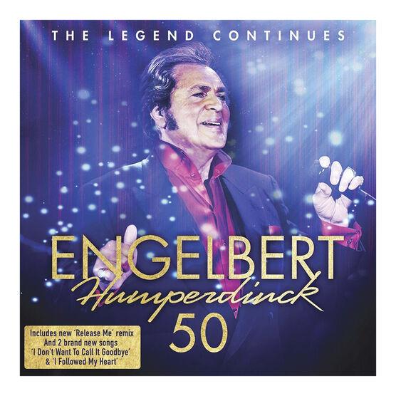 Englebert Humperdinck - 50 - 2 CD
