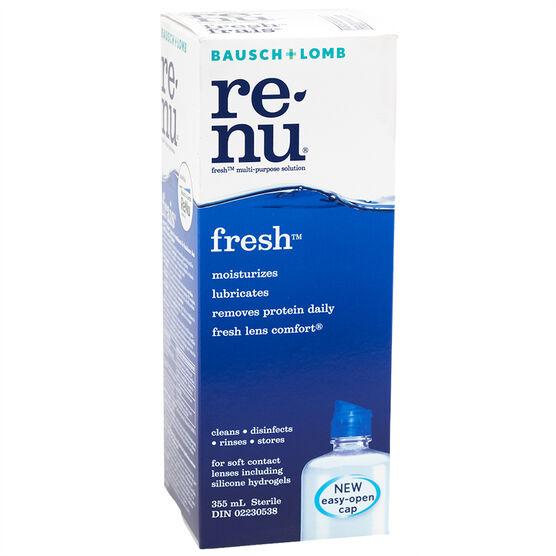Bausch & Lomb Renu Fresh Solution - 355ml